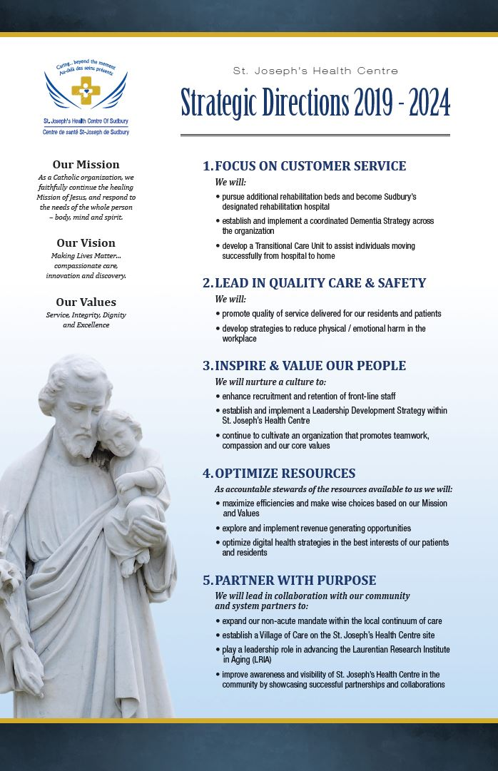 2019-2024 Strategic Plan poster