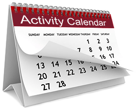 Activity Calendar Illustration