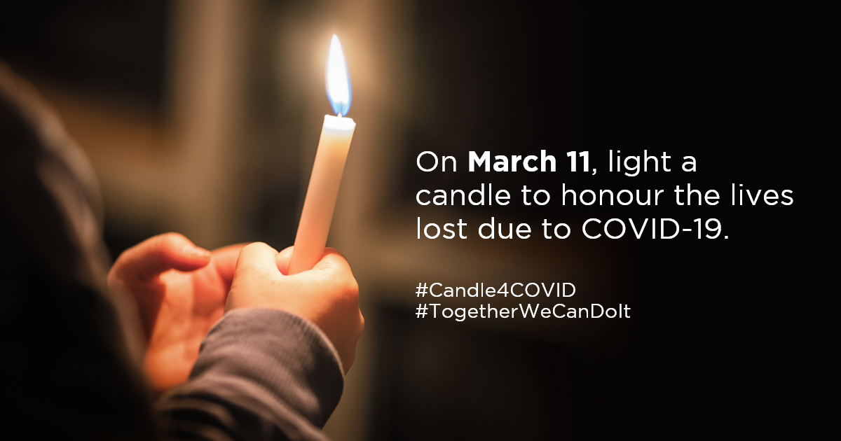 Covid-19 Candle