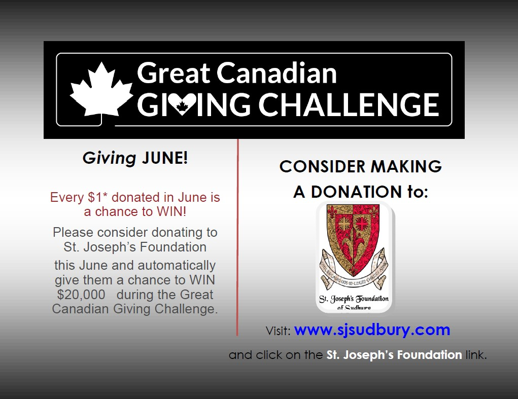Great Canadian Giving Challenge Promotional ad