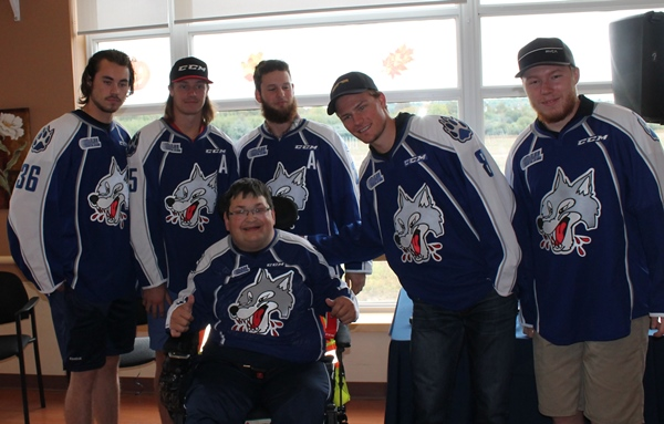 MItch and the Sudbury Wolves