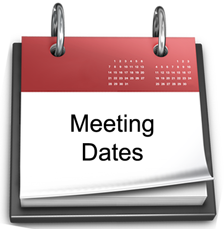 Meeting Dates graphic