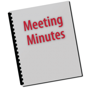 Meeting Minutes graphic