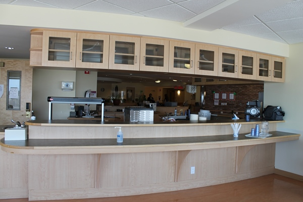 SJCCC Dining Room Main Counter