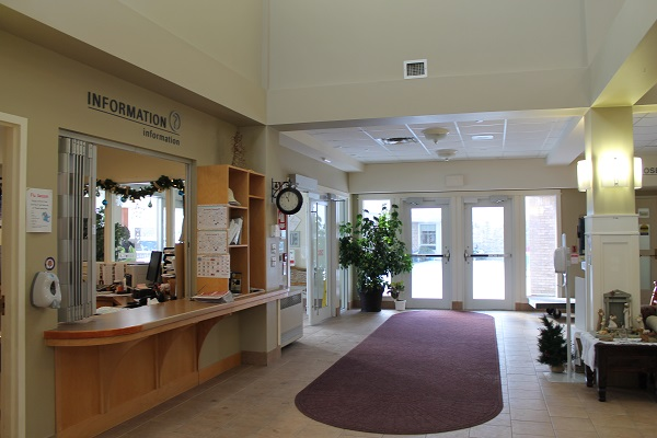 SJV Main Lobby Reception Area