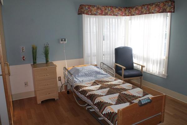 SJV Resident Room Bed