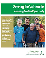 Serving the Vulnerable Booklet Cover