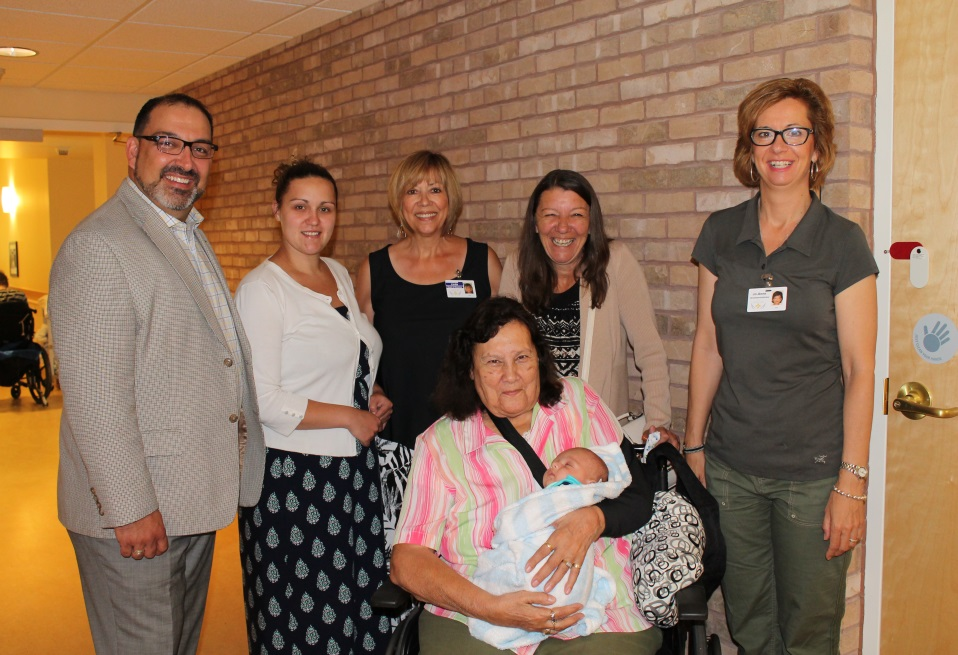 Sudbury MPP visits SJCCC July 2015