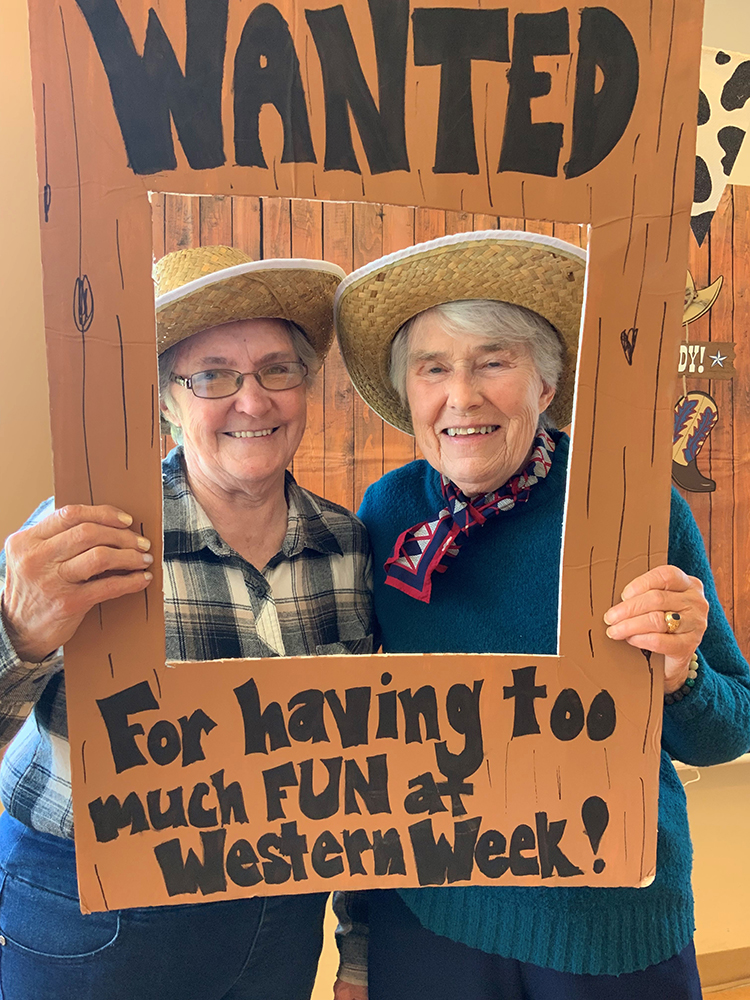 Residents Celebrate Western Week