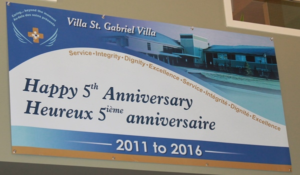 VSGV Banner 5th anniversary March 30, 2016