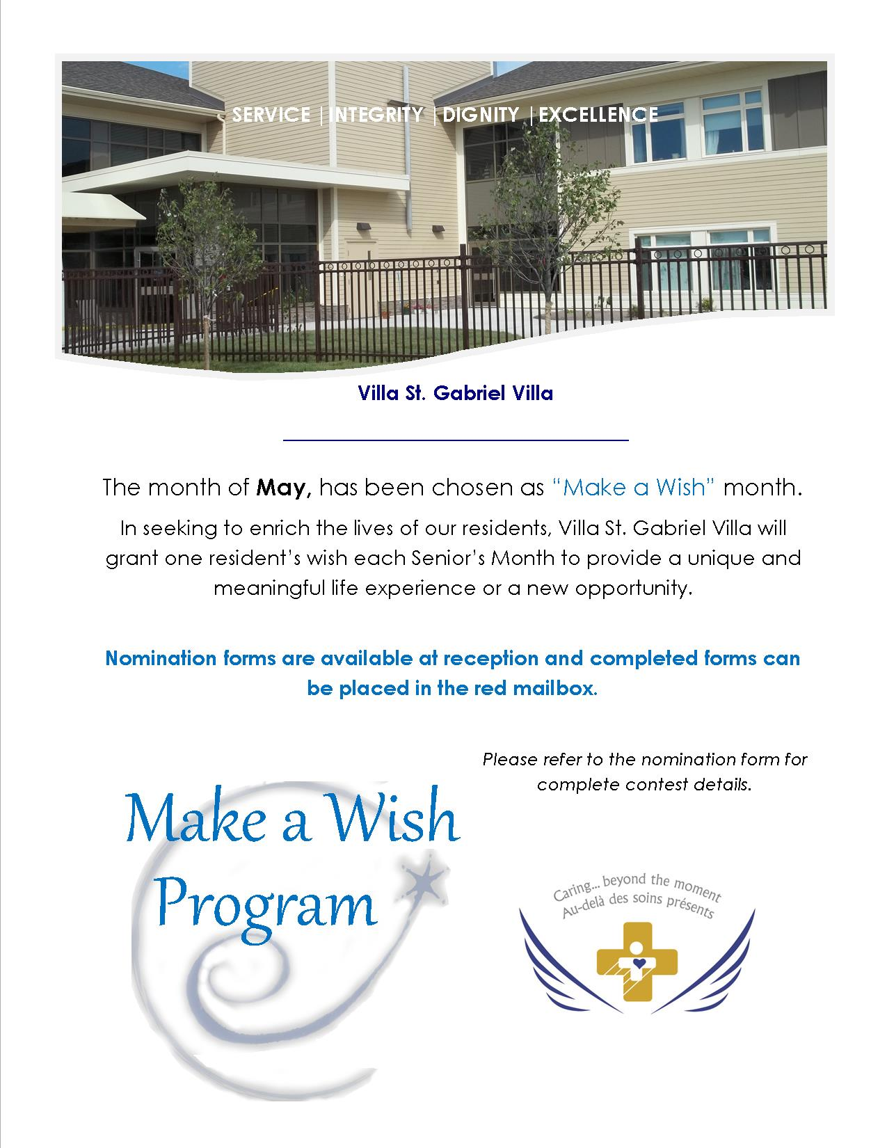 VSGV Make-A-Wish program