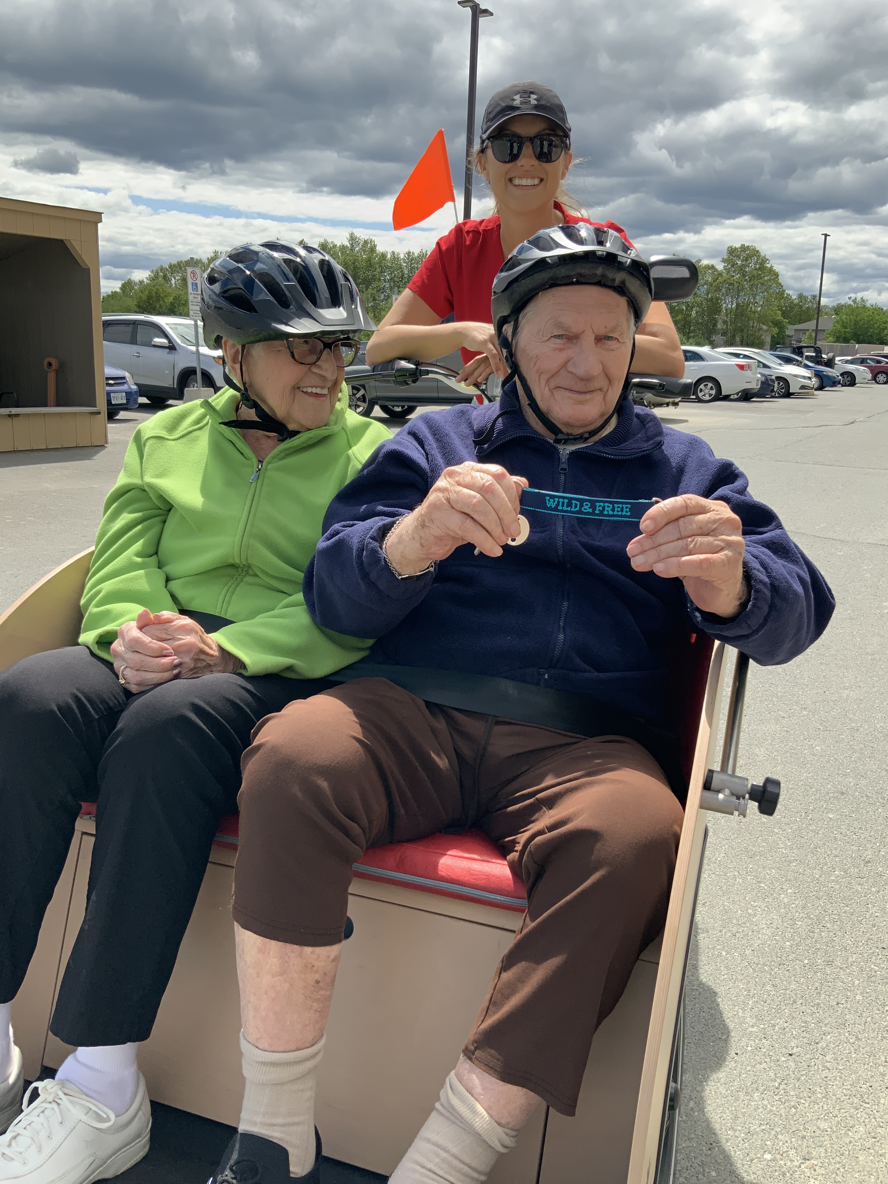 VSGV Residents Riding in Bike