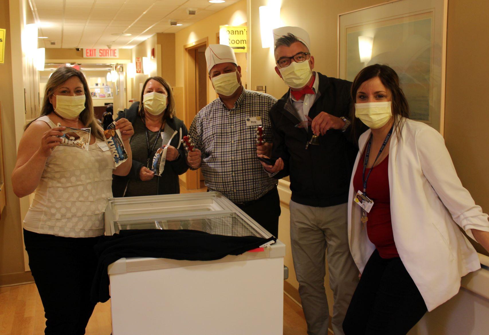 VSGV Staff with Freezer of Frozen Treats