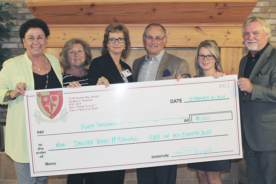 Schuster Boyd McDonald's Chip in for Charity Golf Tournament raises $40,000 for St. Joseph's Foundation