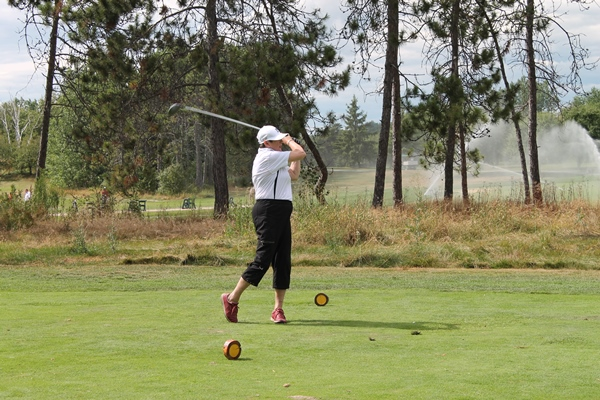 Chip in for Charity Golf Swing
