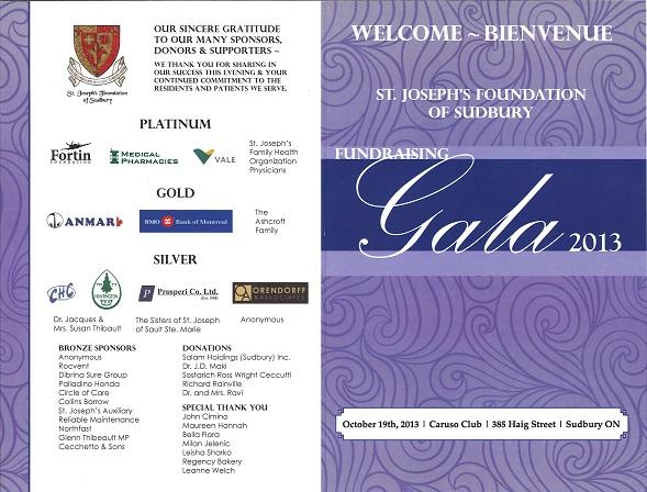 Gala Program 2013