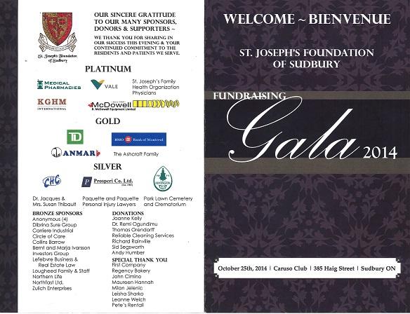 Gala Program 2014