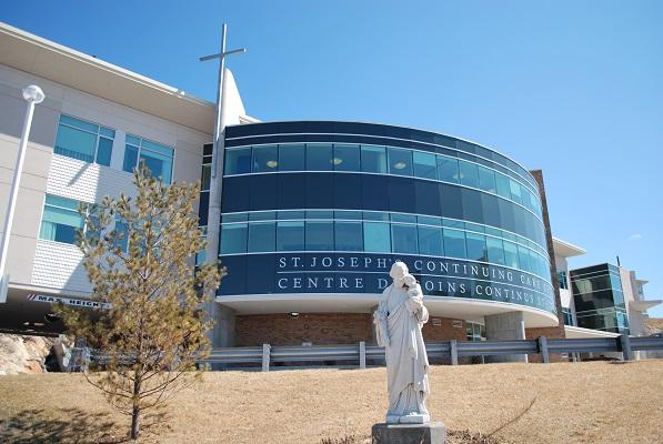 St. Joseph's Continuing Care Centre Building Exterior