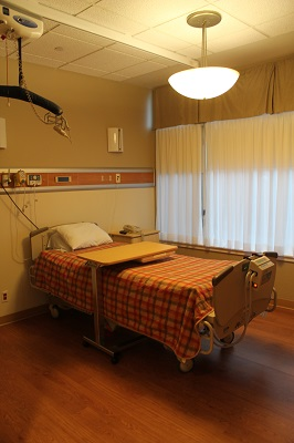 SJCCC Patient Room View 1