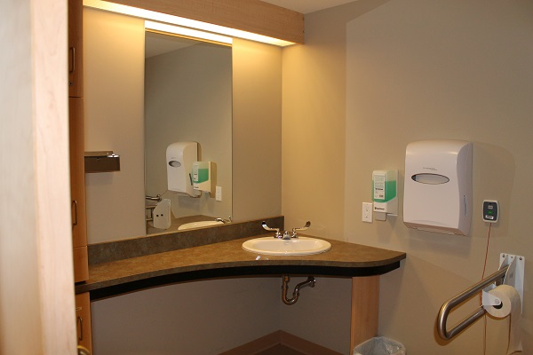 SJCCC Patient Washroom View 1
