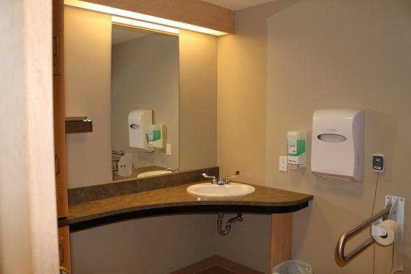 SJCCC Patient Washroom View 1