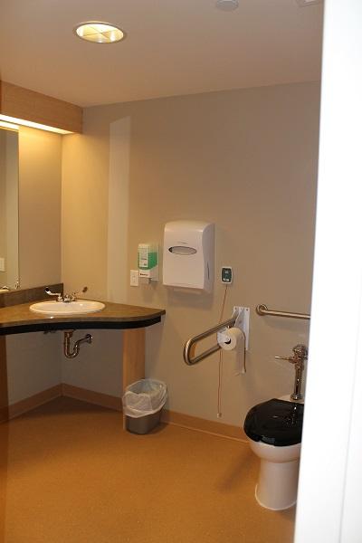 SJCCC Patient Washroom View 2