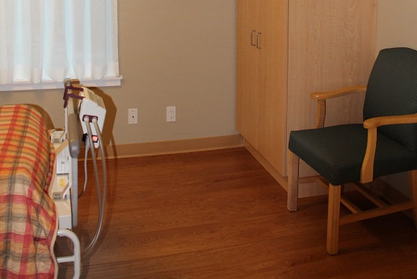SJCCC Patient Room View 2