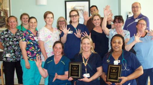SJV Hand Hygiene Infection Control Champions! May 2016