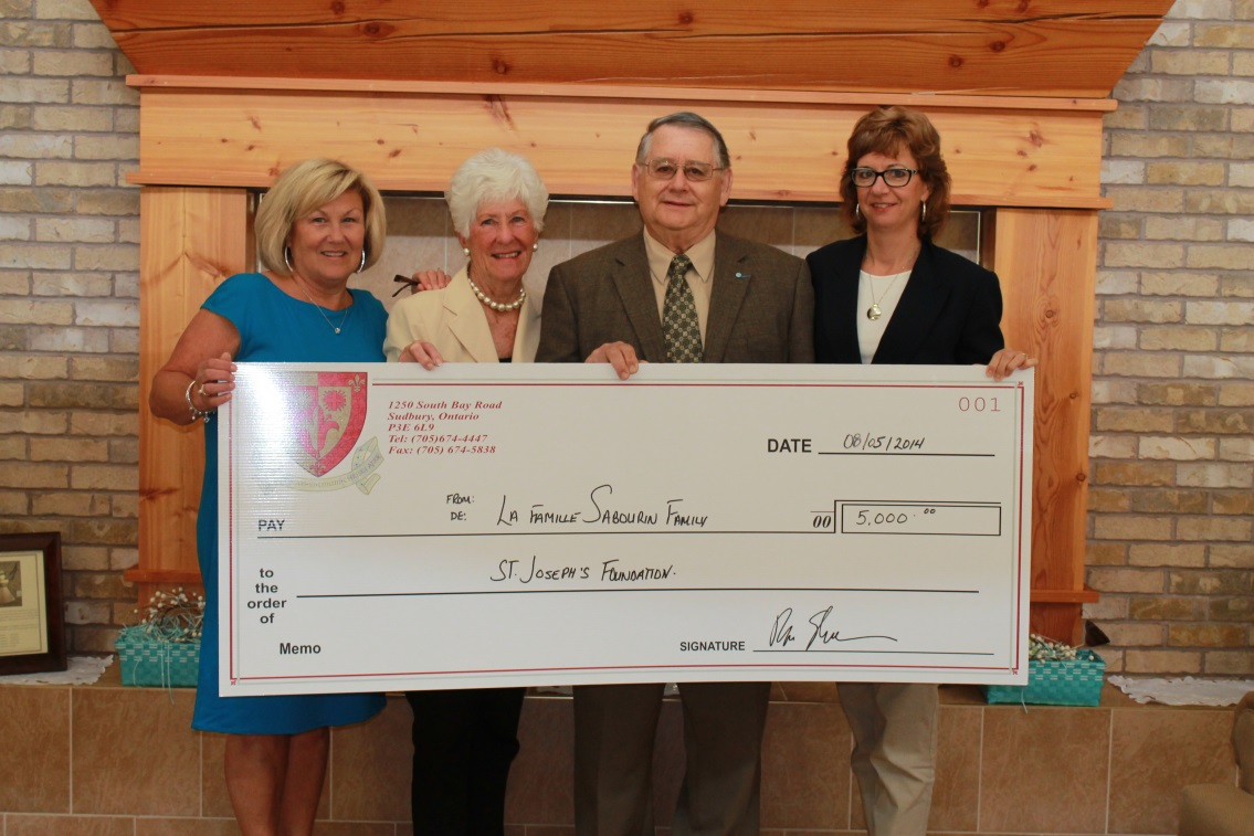 Sabourin Memorial Donation