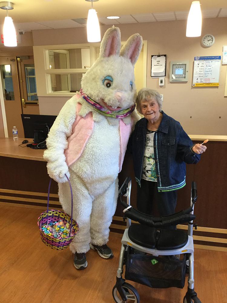Easter Bunny at VSGV